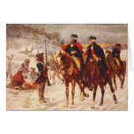 George Washington and Lafayette at Valley Forge Cards