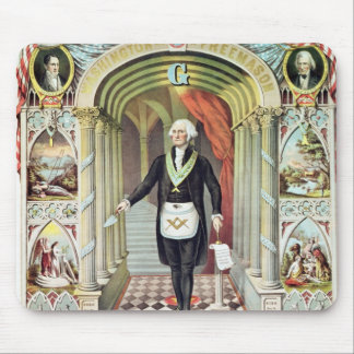 George Washington as a Freemason Mouse Pad