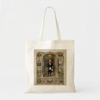 George Washington As A Freemason Portrait 1867 Tote Bags