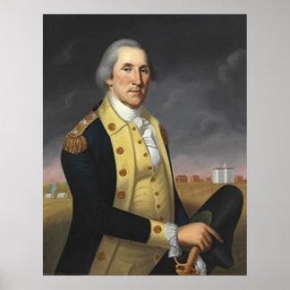 George Washington At Princeton Print