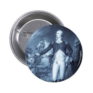 George Washington at Trenton button