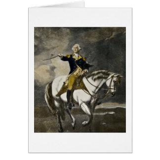George Washington at Trenton Greeting Card