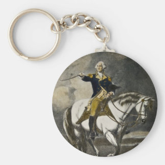 George Washington at Trenton Key Ring