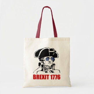 George Washington Brexit 1776 EU Flag Sunglasses Tote Bag