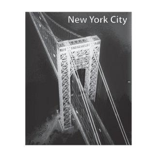 George Washington Bridge New York City Canvas Print