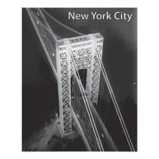 George Washington Bridge New York City Photographic Print
