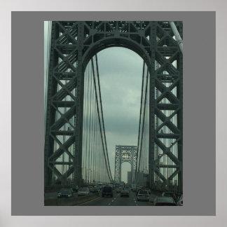 George Washington Bridge Photo Poster