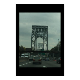 George Washington Bridge Photo Poster