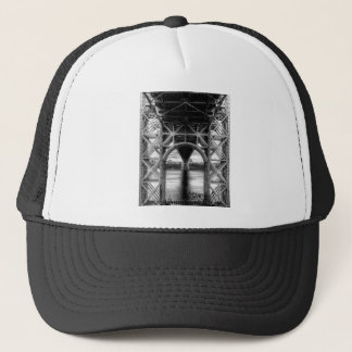 George Washington Bridge, unique perspective Trucker Hat
