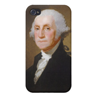 George Washington, c.1821 (oil on canvas) Covers For iPhone 4