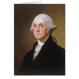 George Washington, c.1821 (oil on canvas) Greeting Card