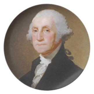 George Washington, c.1821 (oil on canvas) Plates