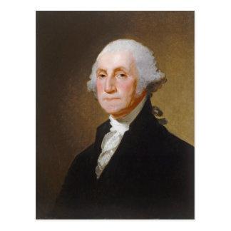 George Washington, c.1821 (oil on canvas) Postcard