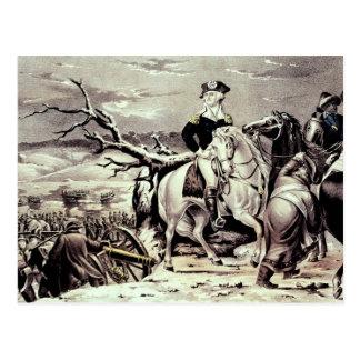 George Washington crossing the Delaware Postcard