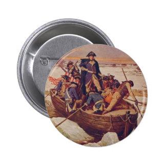 George Washington Crossing the Delaware River Pin