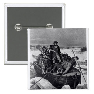 George Washington crossing the Delaware River Buttons