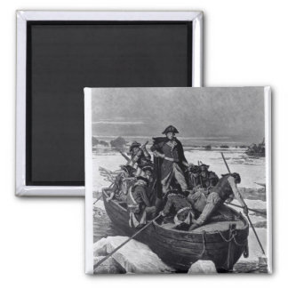 George Washington crossing the Delaware River Magnet