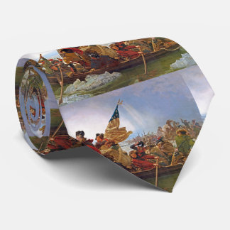 George Washington Crossing The Delaware Tie