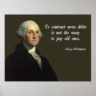 George Washington Debt Quote