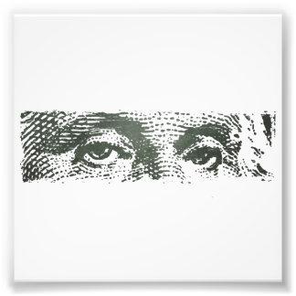 George Washington Dollar Bill Cash Money Photographic Print