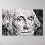 george washington dollar bill print