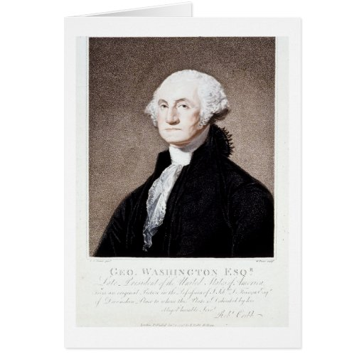 George Washington, Esq. 1798 Cards