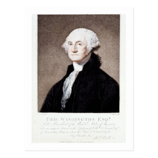 George Washington, Esq. 1798 Postcard