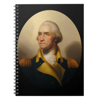 George Washington, First U.S. President Spiral Notebooks