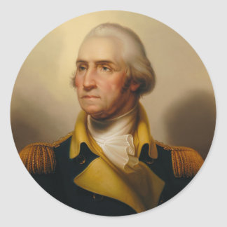 George Washington, First U.S. President Sticker