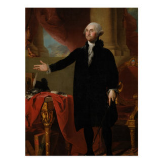 George Washington - Gilbert Stuart (1797) Postcard