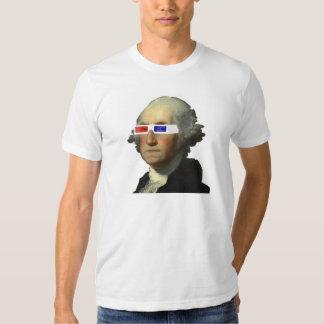 George Washington in 3D Shirt