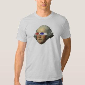 George Washington in 3D T-shirt