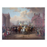 """""""George Washington in New York"""" poster/print Poster"""