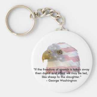 George Washington Key Ring