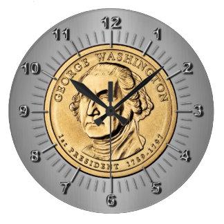 George Washington Large Clock