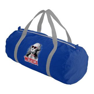 George Washington 'Merican Party Gym Duffel Bag