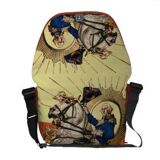 George Washington on Horseback Courier Bags