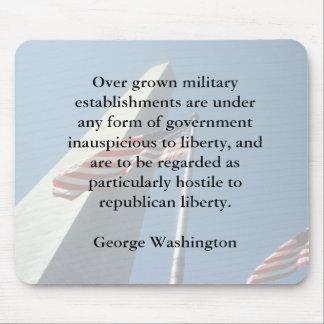 George Washington on the Military Mousepad