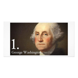 George Washington Photo Card Template