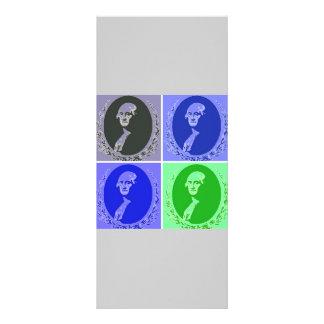 George Washington Pop Art Rack Card