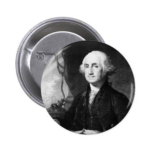 George Washington Portrait button
