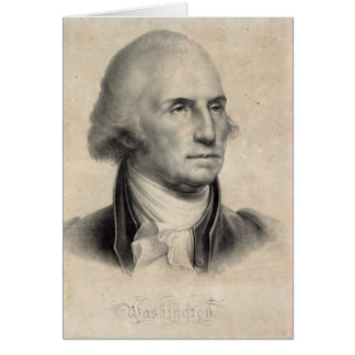 George Washington Portrait cards