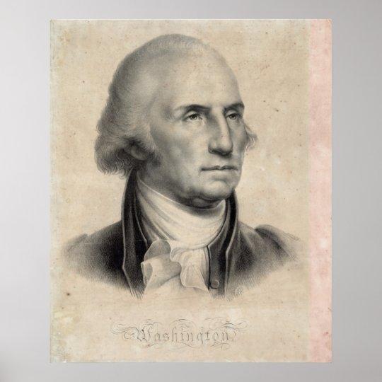 George Washington Portrait poster/print Poster