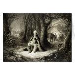 George Washington Praying cards