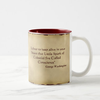 George Washington Quotation Mugs