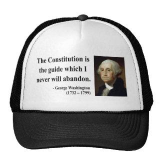 George Washington Quote 4b Cap