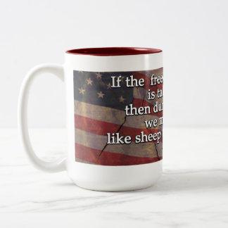 George Washington Quote On First Amendment Coffee Mugs