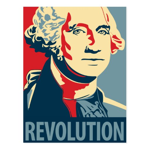 George Washington - Revolution: OHP Postcard