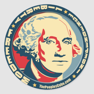 George Washington - Revolution: OHP Sticker