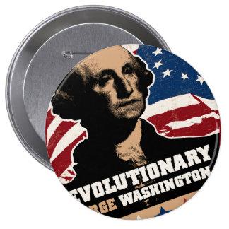 George Washington Revolutionary Button